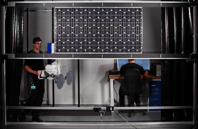Testing times: precise measurement of solar cells is of crucial importance.