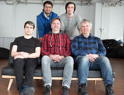 K-Lens team: Pascal Bies, Sunil Jaiswal, Matthias Schmitz, Zaur Aliev, Klaus Illgner.