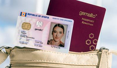 Laser method boosts passport and ID security, says Gemalto.