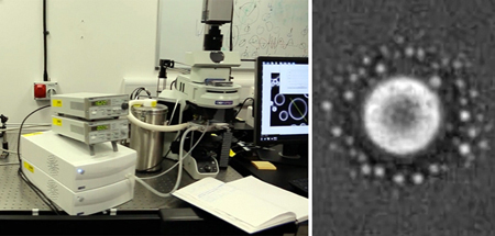 Laser treatment: to achieve control of nucleation (right), including the type of crystal produced.