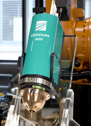 Mini form enables fabrication of parts made of fine wires.