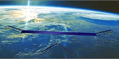 High-flyer: QinetiQ's Zephyr high-altitude long-endurance (HALE) UAV.