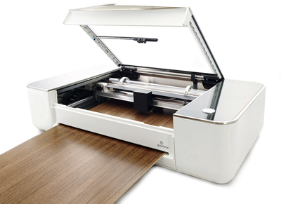 Make with it what you will: Glowforge's Pro 3D Laser Printer.