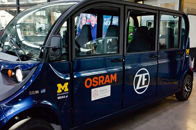 Osram's lasers, IREDs and other semiconductor devices support ADAS systems.