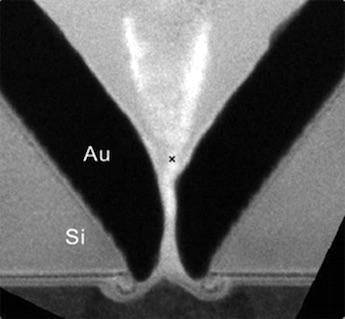 Plasmonic nanoslit: single-molecule sensitivity