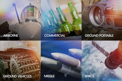 Sofradir's targets include aerospace, defense and commercial markets.