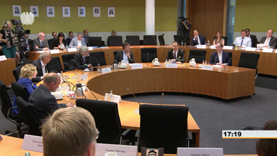 Quantum discussion: Germany's Parliamentary Digital Agenda Committee.