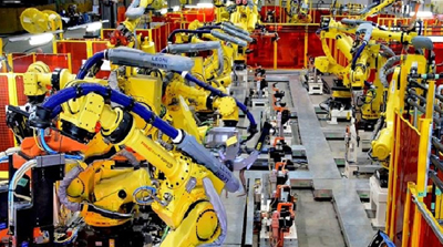 Rise of the robots: Prodomax designs automated production lines.