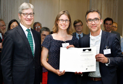 Third Prize for Faster Assessment of Resistances – RamanBioAssay.