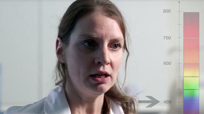 Marielle Bouschbacher, project leader at URGO Labs.