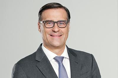 Olaf Berlien, Osram's CEO.