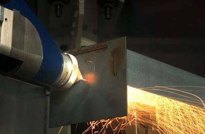 Versatile: a multifunctional laser processing head.