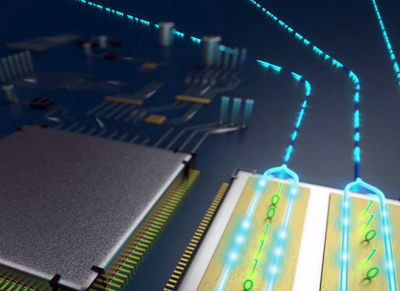 Tiny modulator drives data at higher speeds and lower costs.