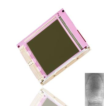 Flexible fingerprint sensor